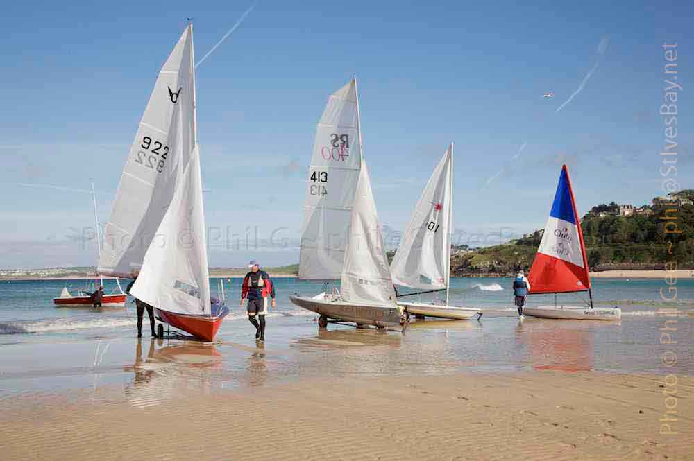 St Ives Sailing Club © Phil Gee